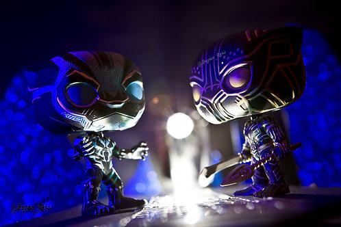 Black Panther (T'Challa) Vs Black Panther (Killmonger)