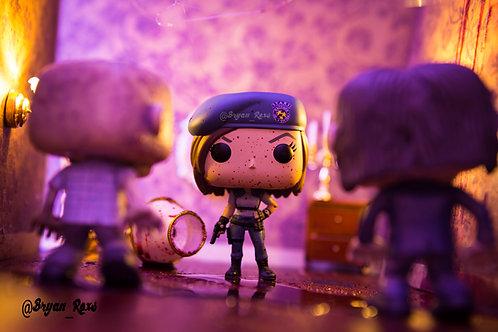 Jill Valentine Vs Zombie (Resident Evil 1)