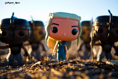 Daenerys Targaryen & The Unsullied Army
