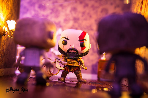 Kratos vs Zombies