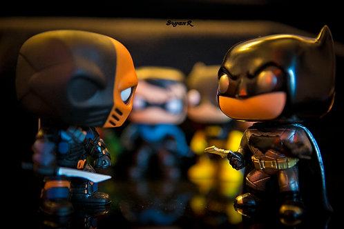 Death Stroke Vs Batman