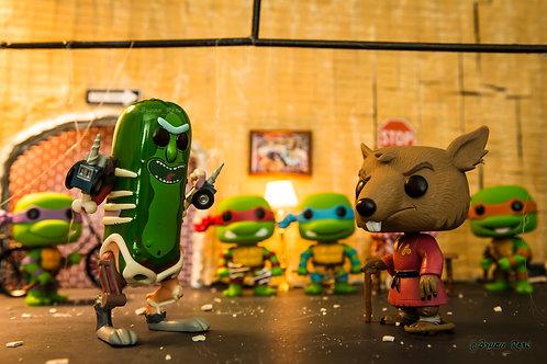 Pickle Rick vs Master Splinter