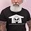 Thumbnail: URBANROXSTARR WHITE LOGO BLACK SHIRT