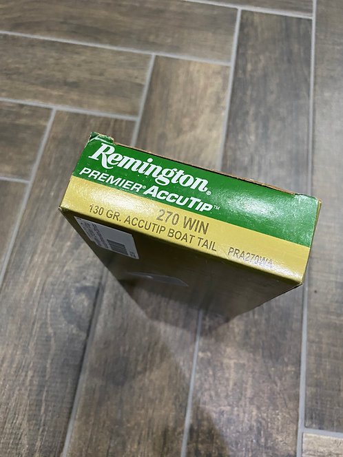 .270 Remington Premier Accutip 130gr (20)