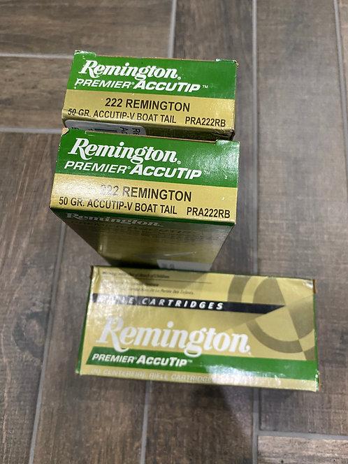 .222 Remington Premier Accutip 50gr (20)