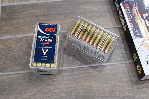 .22WMR CCI Maxi Mag TNT Hollow Point 30gr Ammunition (50)