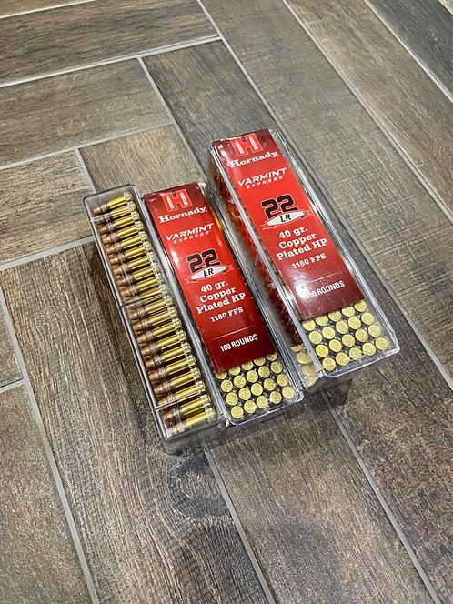 .22LR Hornady Varmint Express 40gr HP Ammunition (100)