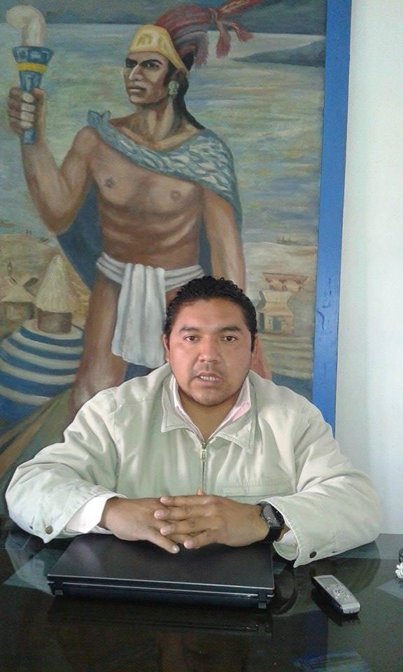 César Cornelio, secretario del Ayuntamiento de Tzintzuntzan