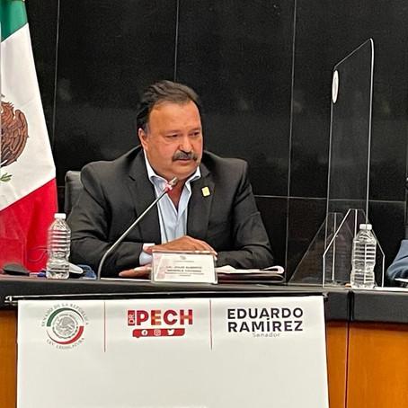 Realizó Julio Arreola gestión sin precedentes para las Islas del Lago de Pátzcuaro ante el Senado