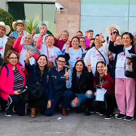 Se reencuentran con sus familias en EU, 176 Palomas Mensajeras de cinco municipios