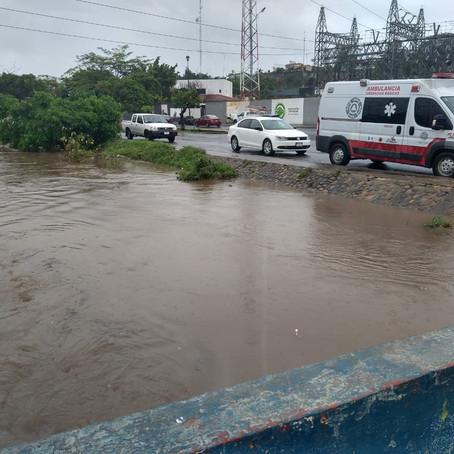 """En alerta PC Estatal ante afectaciones tras el paso de """"Enrique"""""""