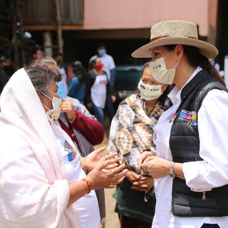 Se compromete Macarena Chávez a incrementar inversión de salud en el país