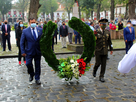 Con emotivo acto, conmemoró Pátzcuaro el 174 Aniversario de la Batalla de Chapultepec