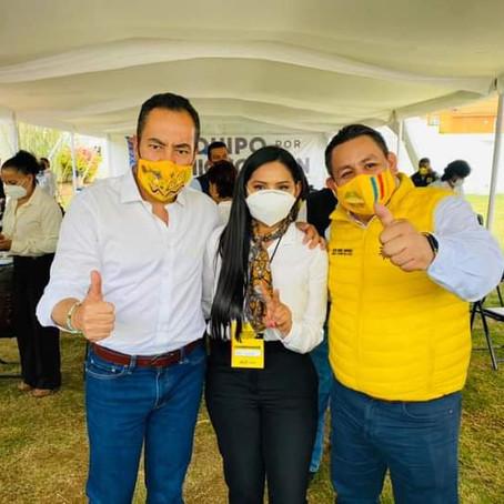 ARACELI SAUCEDO TOMÓ PROTESTA COMO COORDINADORA MUNICIPAL DE SALVADOR ESCALANTE