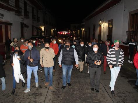 """Celebran 487 Aniversario del Otorgamiento de Título de """"Ciudad de Mechoacan"""" a Pátzcuaro"""