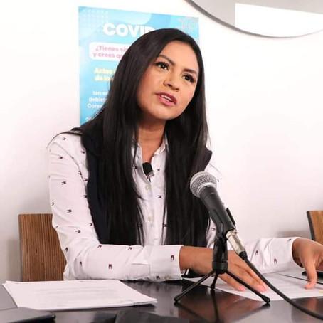 Exhorta Araceli Saucedo, a los ayuntamientos, a fortalecer acciones preventivas por Covid-19