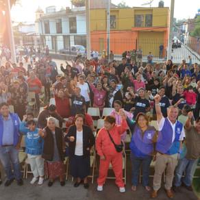 NO HABRÁ MÁS COLONIAS Y COMUNIDADES ABANDONADAS POR EL GOBIERNO: ALFREDO MEJÍA