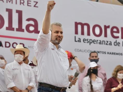 El triunfo del pueblo es legítimo y legal; juntos transformaremos Michoacán: Bedolla