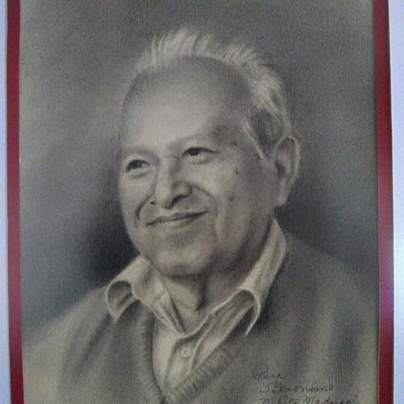 Rinden homenaje al maestro pintor José Gerónimo Mateo Madrigal (QPD), en San Jerónimo