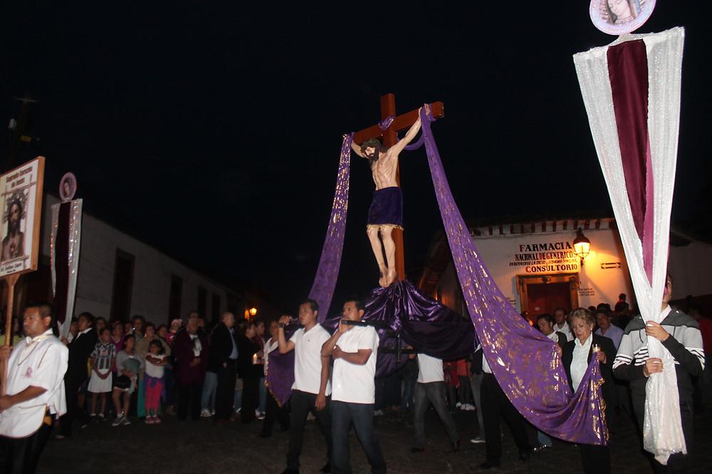 Procesión de los Cristo
