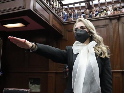 SAMANTA FLORES ADAME TOMA PROTESTA COMO DIPUTADA LOCAL