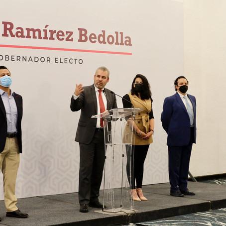 Michoacán no seguirá aislado de la federación; participará activamente en la 4T: Bedolla