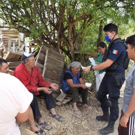 Intensifica SSP perifoneo en municipios contra COVID-19