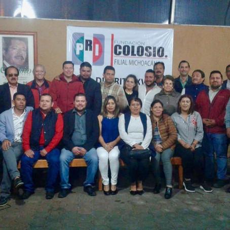 TOMAN PROTESTA A FILIALES DEL DISTRITO XV DE LA FUNDACIÓN COLOSIO