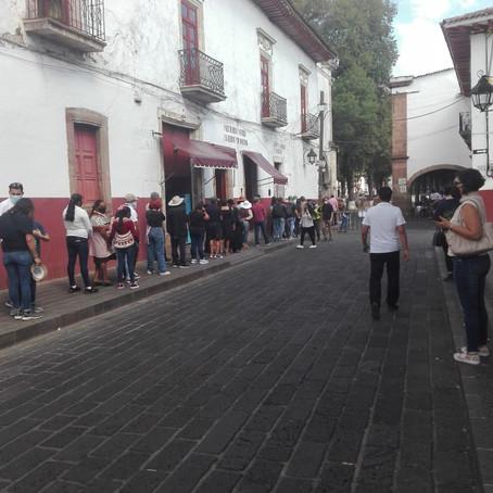 PÁTZCUARO REGISTRÓ GRAN AFLUENCIA DE VISITANTES APESAR DE PANDEMIA POR COVID-19