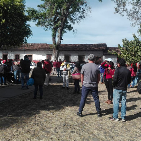 COMERCIANTES DE LA BASÍLICA PIDEN LOS DEJEN TRABAJAR COMO LO ESTIPULA EL DECRETO