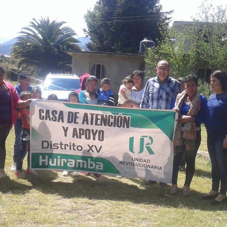 DELEGADA DEL DISTRITO XV DE LA ANUR, AL PENDIENTE DE LAS CASAS DE ATENCIÓN Y APOYO MUNICIPALES