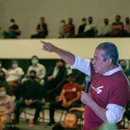 INE niega registro a Raúl Morón por omitir gastos de precampaña