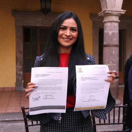 Araceli Saucedo renuncia al salario asignado a la Secretaría General del PRD