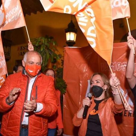 Mercedes Calderón inicia movimiento por la gubernatura de Michoacán
