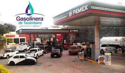 INTENTAN IMPEDIR OPERACIÓN DE GASOLINERA EN TACÁMBARO