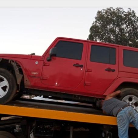 Catean corralón en Tzurumútaro y recuperan seis vehículos robados