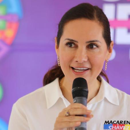 Macarena Chávez, aliada de las y los empresarios