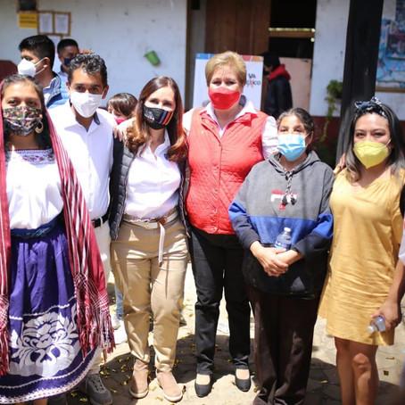Trabajaré para hacer realidad los sueños de las y los michoacanos: Macarena Chávez