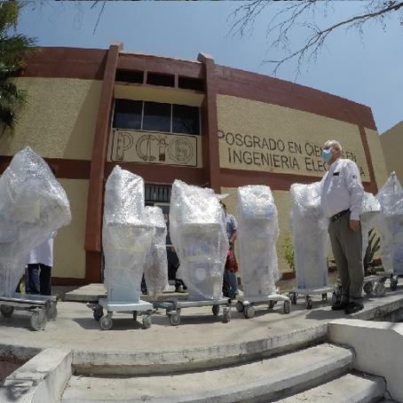 RECIBE IMSS PRIMER PAQUETE DE VENTILADORES REPARADOS EN EL INSTITUTO TECNOLÓGICO DE MORELIA