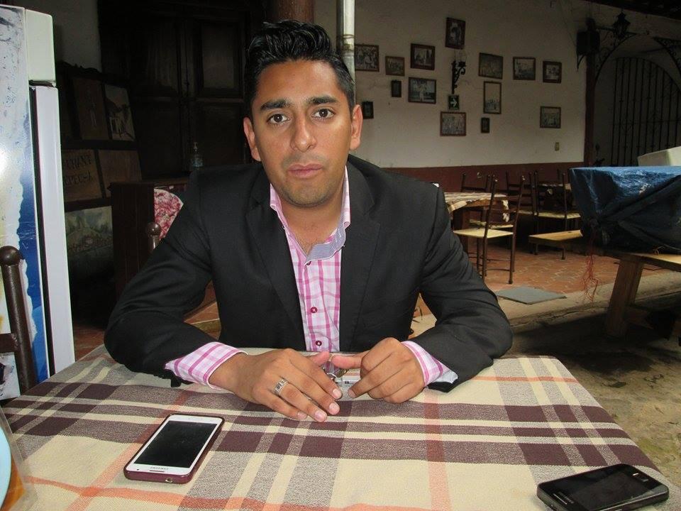 Edgar Pérez, regidor electo