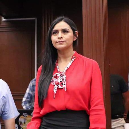 Exhorta Araceli Saucedo a no paralizar trabajos legislativos a los presidentes de la Mesa Directiva