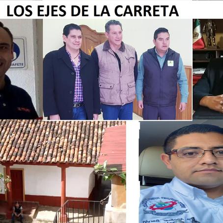 LOS EJES DE LA CARRETA (COLUMNA)