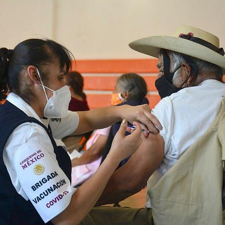 AUTORIDADES MUNICIPALES  EMITEN REPORTE DE RESULTADOS POR LA CAMPAÑA DE VACUNACION COVID-19