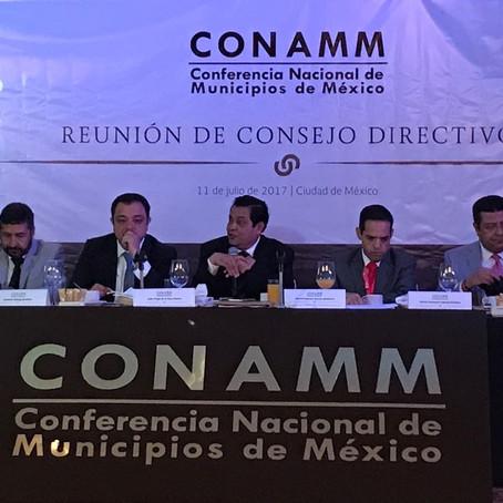 DESIGNAN A VÍCTOR BÁEZ CO-PRESIDENTE DE LA CONFERENCIA NACIONAL DE MUNICIPIOS DE MÉXICO