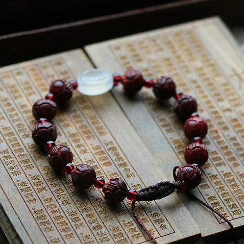 Red Sandalwood  jade bracelet