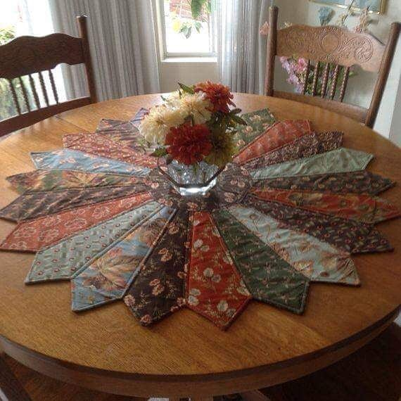 Leftover Fabric Table Runner