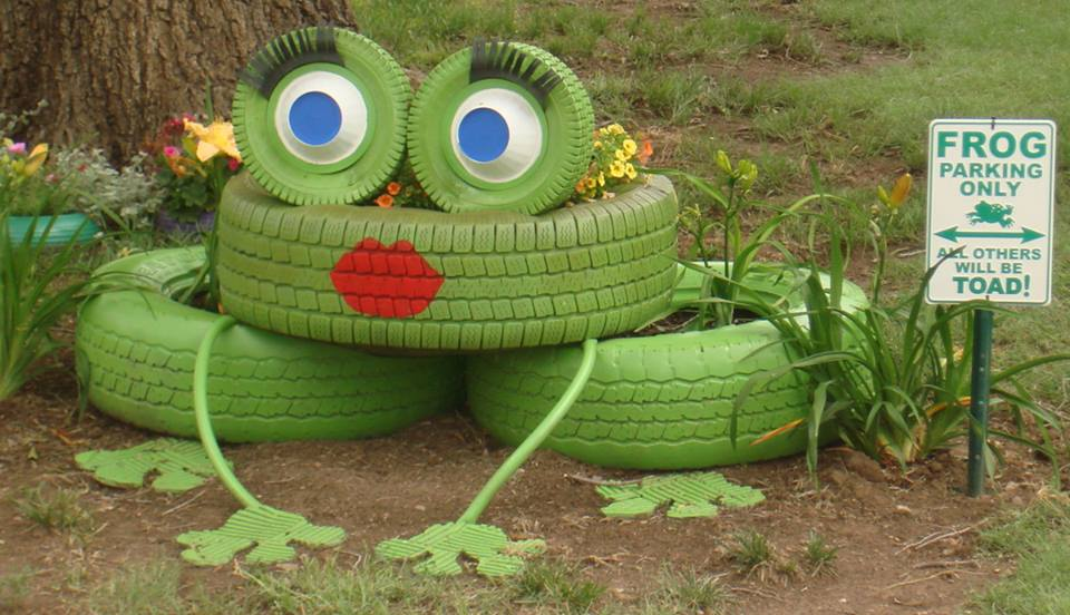 Froggy Planter