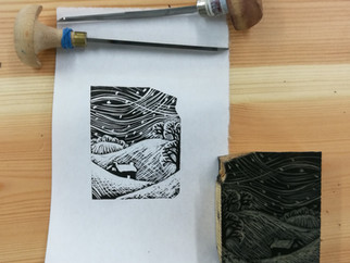 Learning Wood engraving