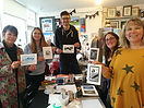 Lino printing 2 hour workshop Jan 2020 (
