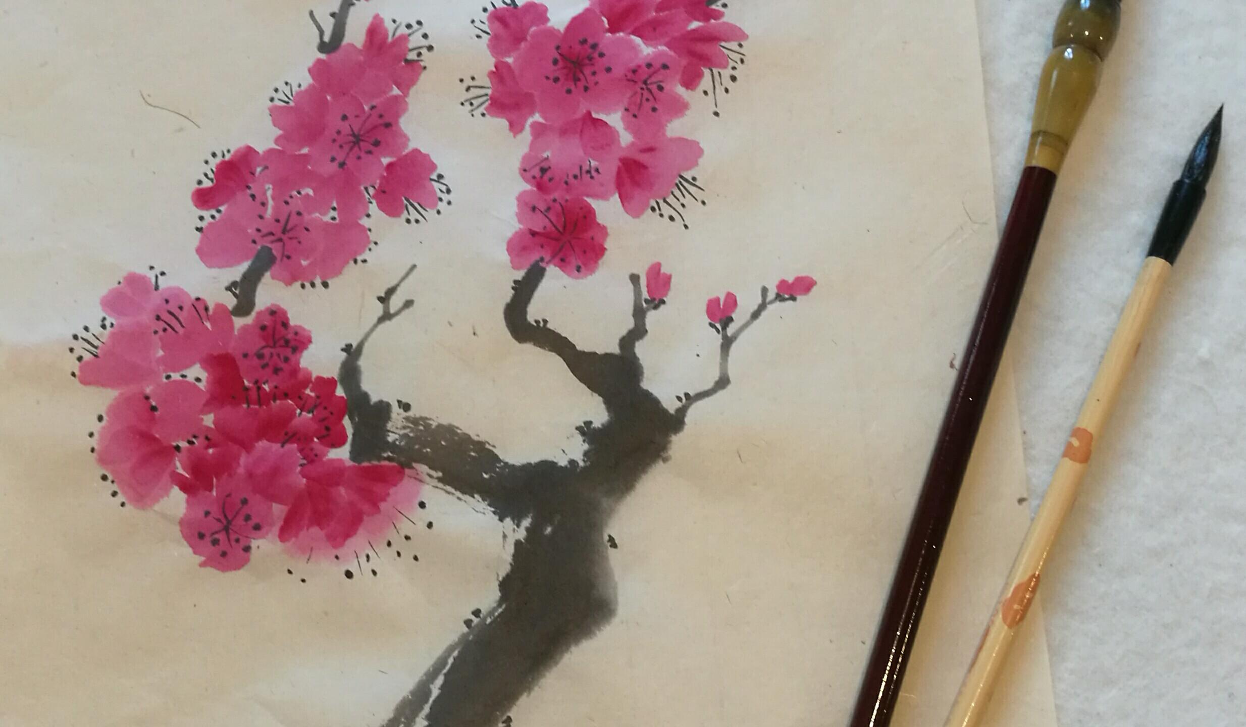 Plumb blossom